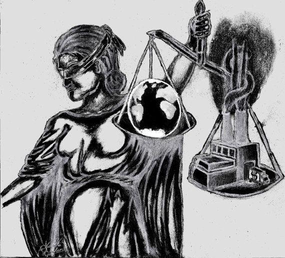 Lady Justice Organic Cotton T-Shirt