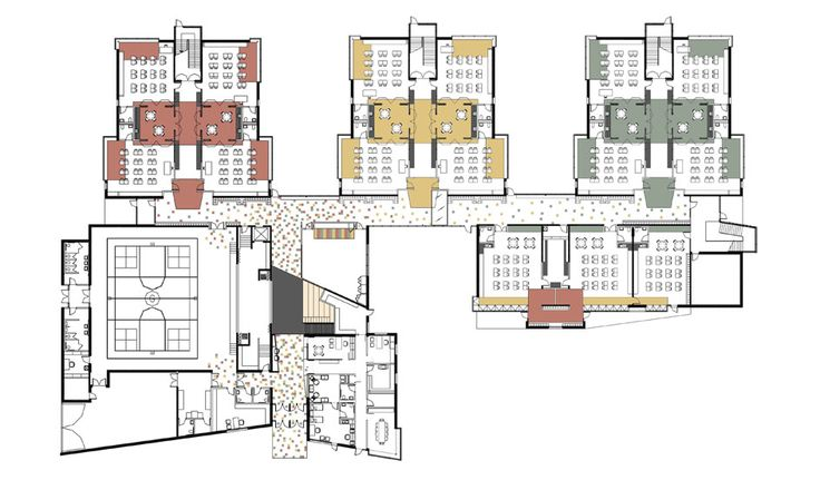 Elementary school building design plans greenman - College of design construction and planning ...