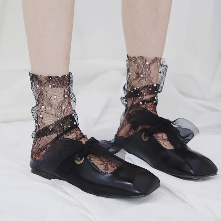 Cheap mesh socks, Buy Quality socks fashion directly from China socks for sale Suppliers: SP&CITY Hot Sale Fashion Hollow Out Shiny Socks for Ladies Pile Heap Fishnet Socks Vintage Unique Print Mesh Socks Short Sock