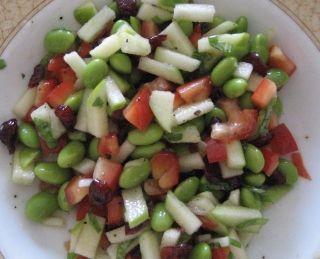Salade d'edamames | .recettes.qc.ca