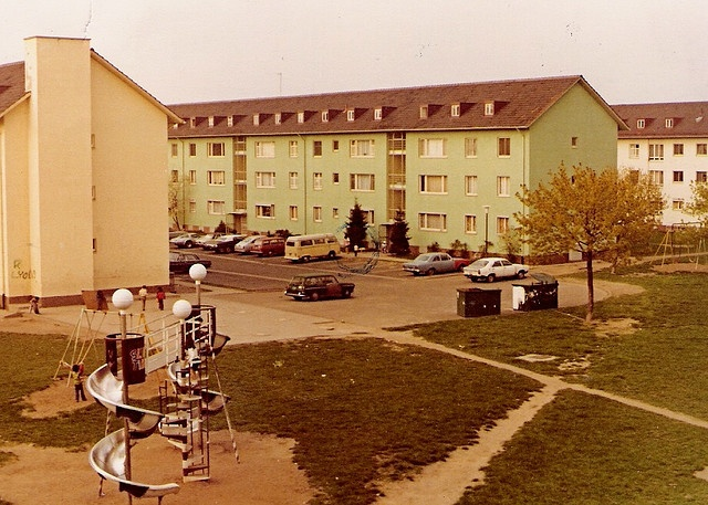 Furth West Germany Dale And I Lived In Furth In Buildings Exactly Like This On The Second