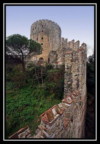 Rumeli Hisari fortress, near Istanbul, Turkey