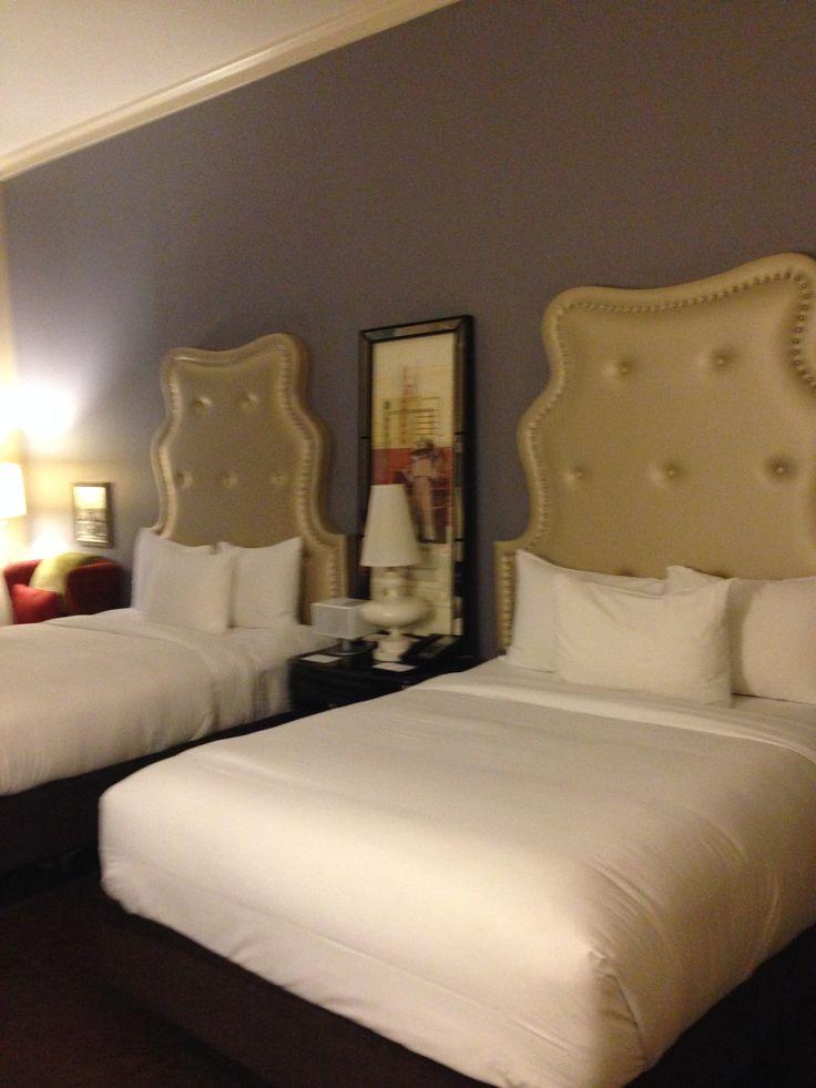 Room at the Andaz Hotel downtown Savannah, GA