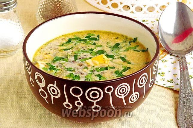 Фото Брюссельский суп из шампиньонов