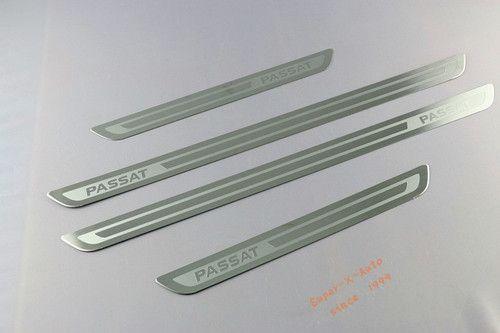 4pcs Chrome Door Sill Scuff Plate Guards Sills for VW Passat B7 NMS   eBay