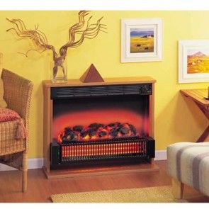 Dimplex Theme Freestanding Fuel Effect Electric Fire - 316CHE