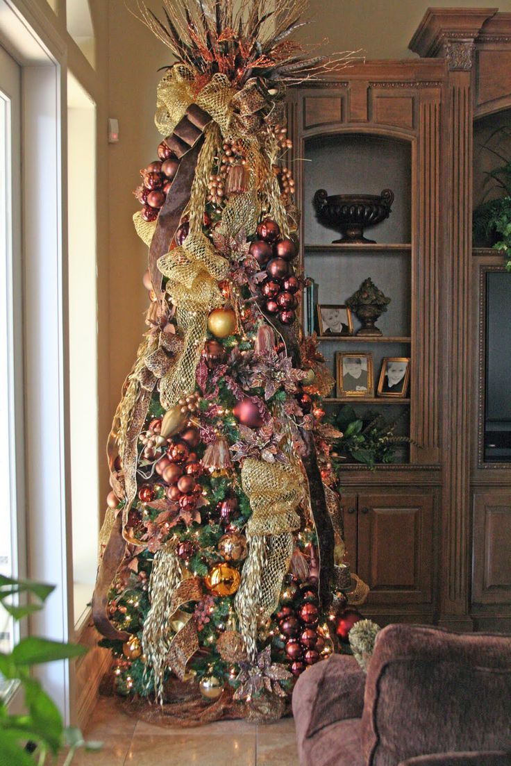 Elegant Christmas Tree Decorating 291 Best Christmas Decorating Ideas Images On Pinterest