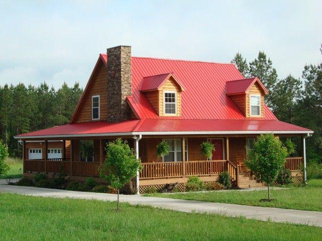 Metal homes   Tuff-Rib   Classic Rib   Metal Roofing Panel   Best Buy Metals