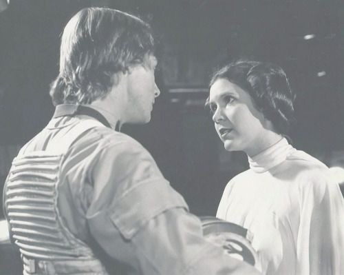 Luke and Leia, Star Wars 1977 retrostarwarsstrikesback