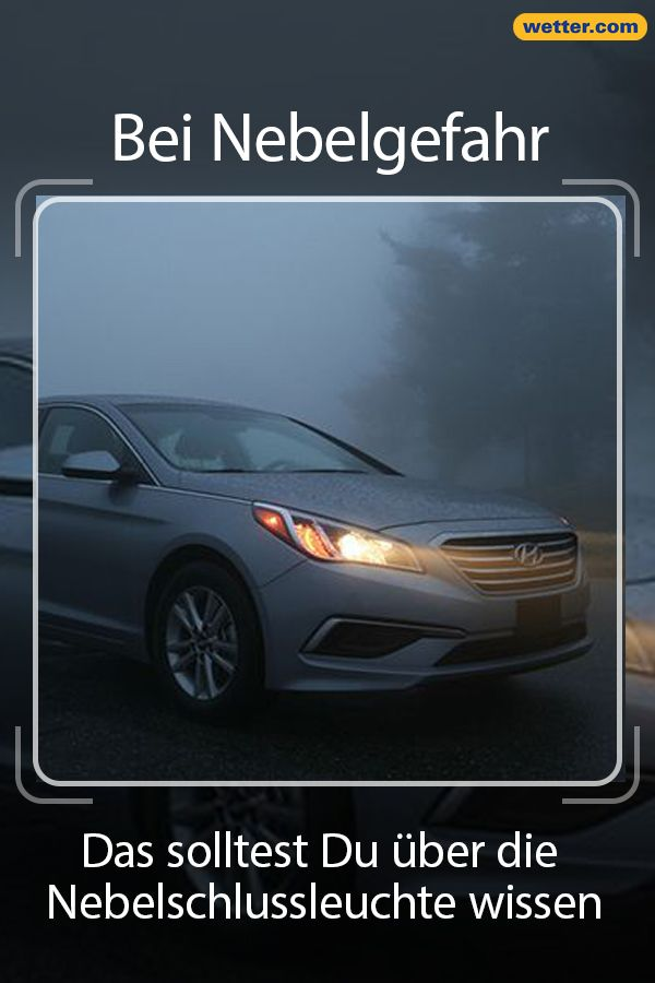 Bei Nebelgefahr Das Solltest Du Uber Die Nebelschlussleuchte