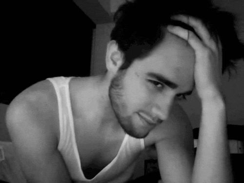 No? Well Brendon Urie and his sexy hair should work. | 28 Celebrity Winks To Melt Your Actual Heart