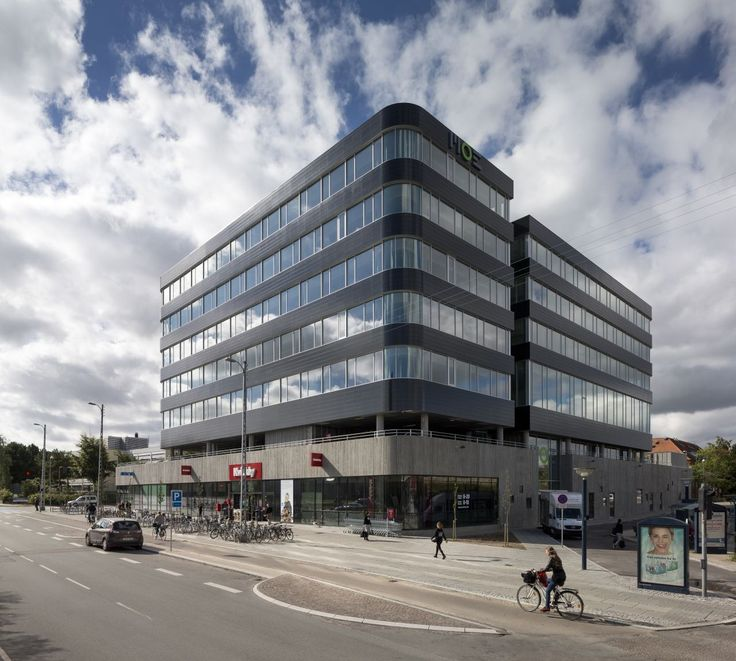 Built by schmidt hammer lassen architects in Copenhagen, Denmark with date 2013. Images by Adam Mørk. The central location in Buddinge was ideal for a corporate headquarters, and schmidt hammer lassen architects has wor...