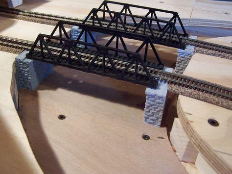 Free Model Railroad Bridge Plans   Model Railroad #modeltrainkits