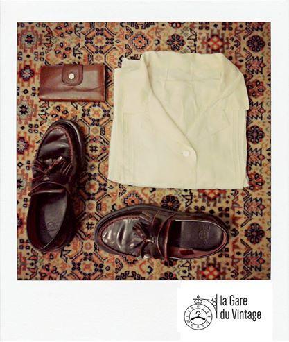 Personal Vintage outfit - From La Gare du Vintage