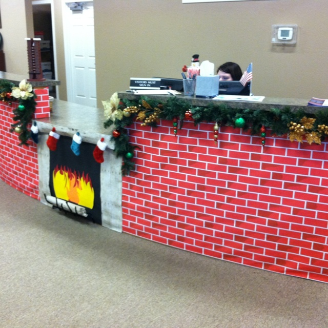 Our Office Christmas Decorations