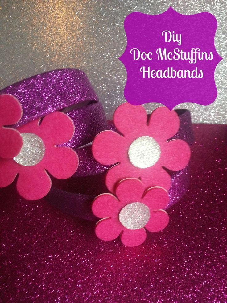 Doc McStuffins headbands favors