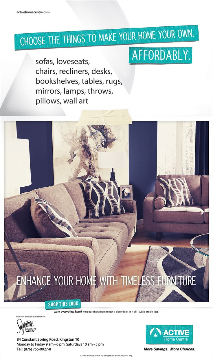 www.facebook.com/ActiveHomeCentre www.activehomecentre.com #ashleyfurniture #sofa #loveseat #table #lamp #rug #throws # pillow #livingroom