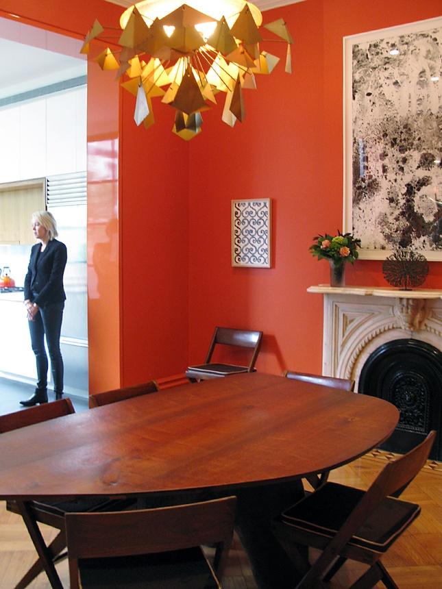 15 Best Orange Dining Room Images On Pinterest Orange Dining Room Dining Room Design And