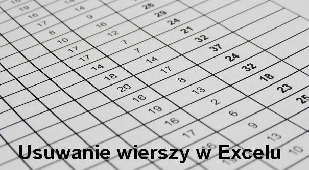 Usuwanie wierszy w Excelu - zobacz jakie to łatwe! Więcej samouczków Excel znajdziesz na: http://bit.ly/1ccaTZV