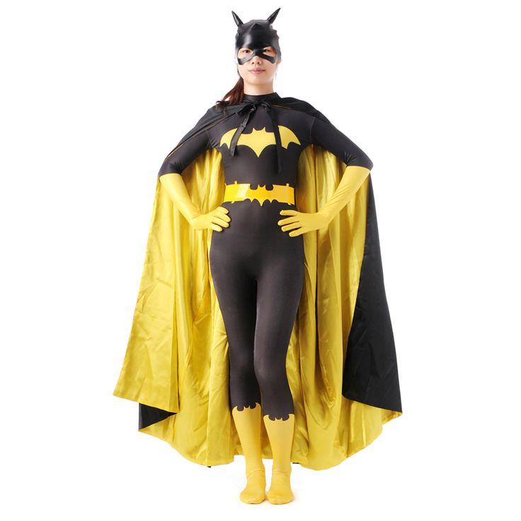 High Quality Batman Spider man Halloween Costumes For Men Women Adult Child Lycra Spandex Zentai Anime Super Hero Cosplay #Affiliate