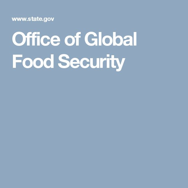 Office of Global Food Security