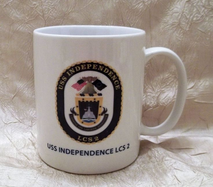 USS Independence LCS-2 United States Navy Mug Coffee Cup Commissioned 1-16-10