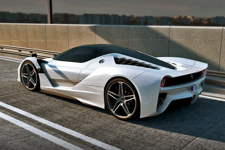 ferrari f70 hybrid supercar concept cars pinterest. Black Bedroom Furniture Sets. Home Design Ideas