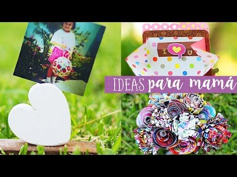 Manualidades para el dia de la madre / Mini Especial Crafty ✎ Craftingeek - YouTube