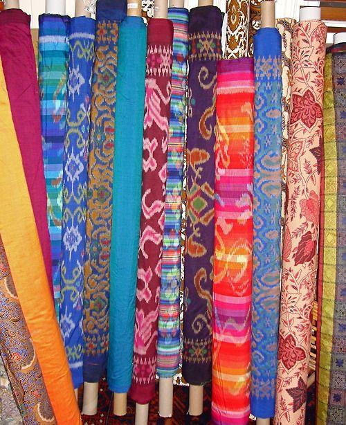 Beautiful ikats and patterned cottons http://www.garootradingcompany.com