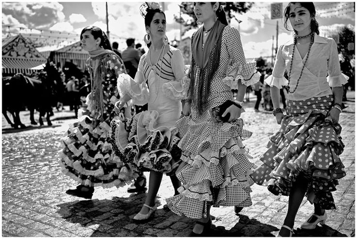 Sevillanas at Feria de Sevilla...Ole