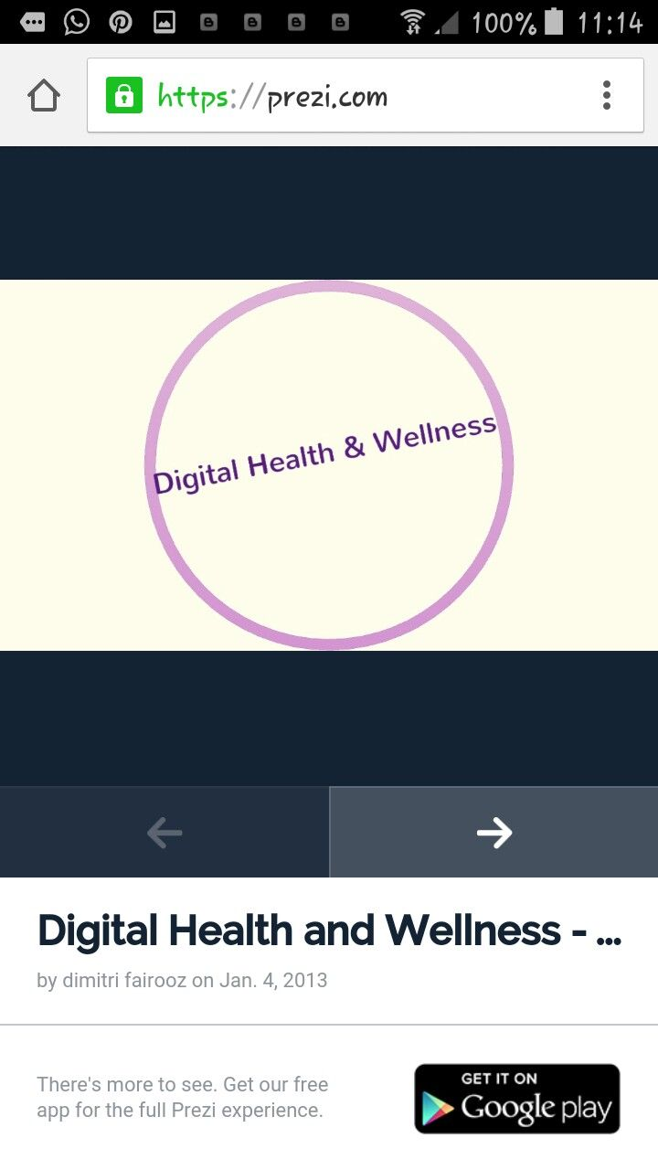 Digital health and wellness at prezi