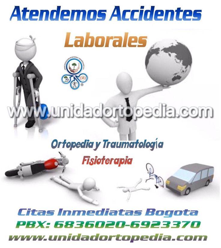 Consulta con médicos especialistas en ortopedia para accidentes laborales en Bogotá. La Unidad Especializada en Ortopedia y Traumatologia www.unidadortopedia.com PBX: +571-6923370, Móvil: +57-3175905407, Bogotá, Colombia.