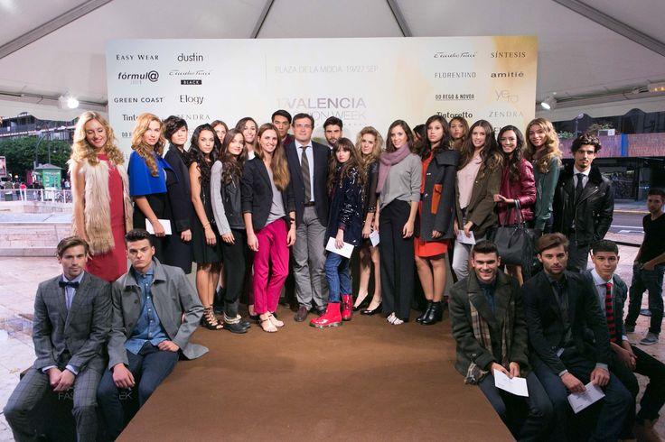 Yunsey Professional apoya a los Nuevos Modelos en la Plaza de la Moda