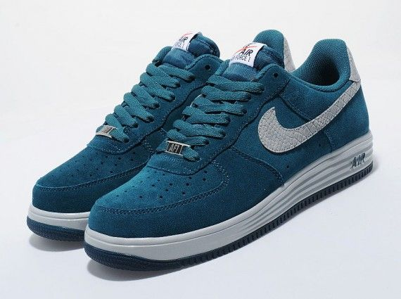 Nike Lunar Force 1 Reflect – Teal – Reflective Silver