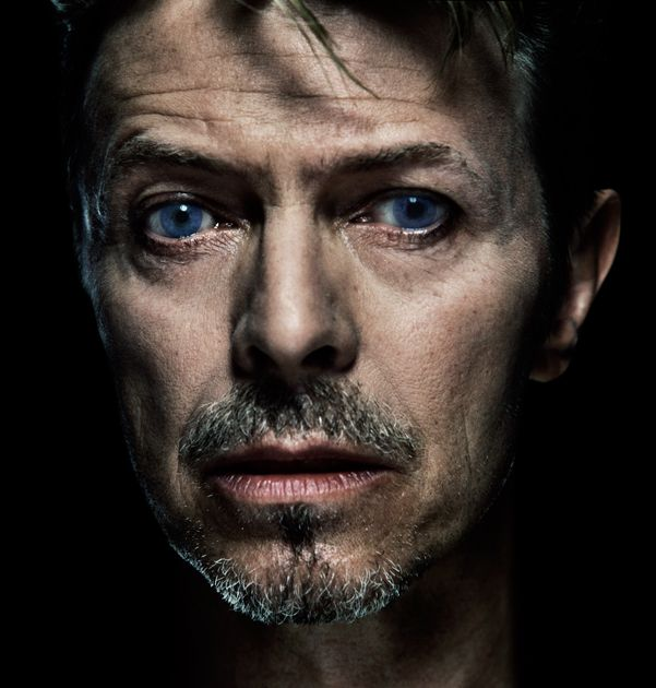 David Bowie - I have always been mesmerized by his mismatched pupils... an old injury, I think.  He also has different colored eyes, so he must have a contact in here.   LTM