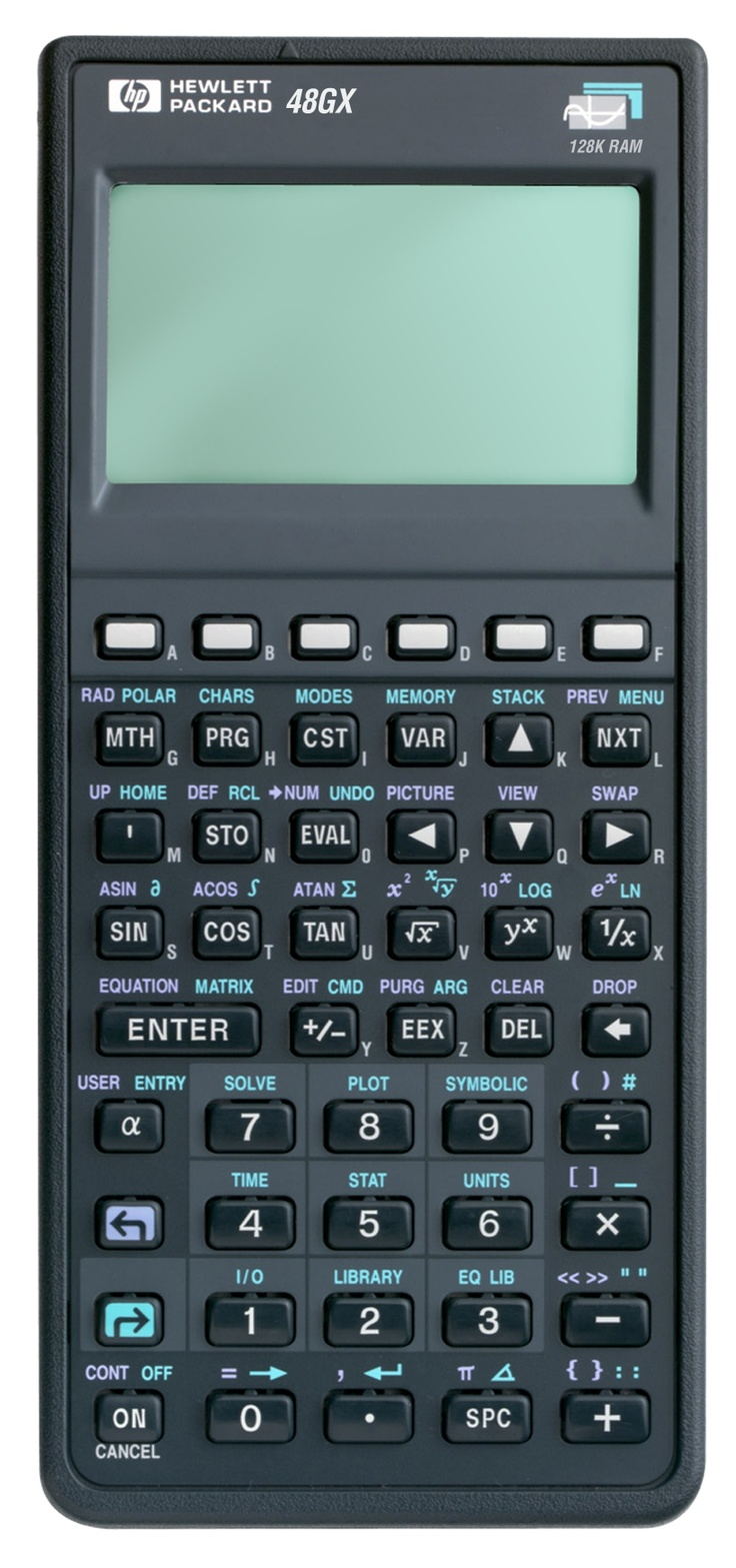 I love my TI89 Titanium, but my 1st scientific was an HP15C.  I love the reverse polish notation of the HP's.  I found this HP48GX at a flea market in my hometown this week for 25$.  Price on Amazon?  $150.00  !!!!!