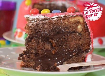 La torta di compleanno perfetta per chi è goloso di #cioccolato. Clicca e scopri la golosa torta di compleanno al cioccolato...