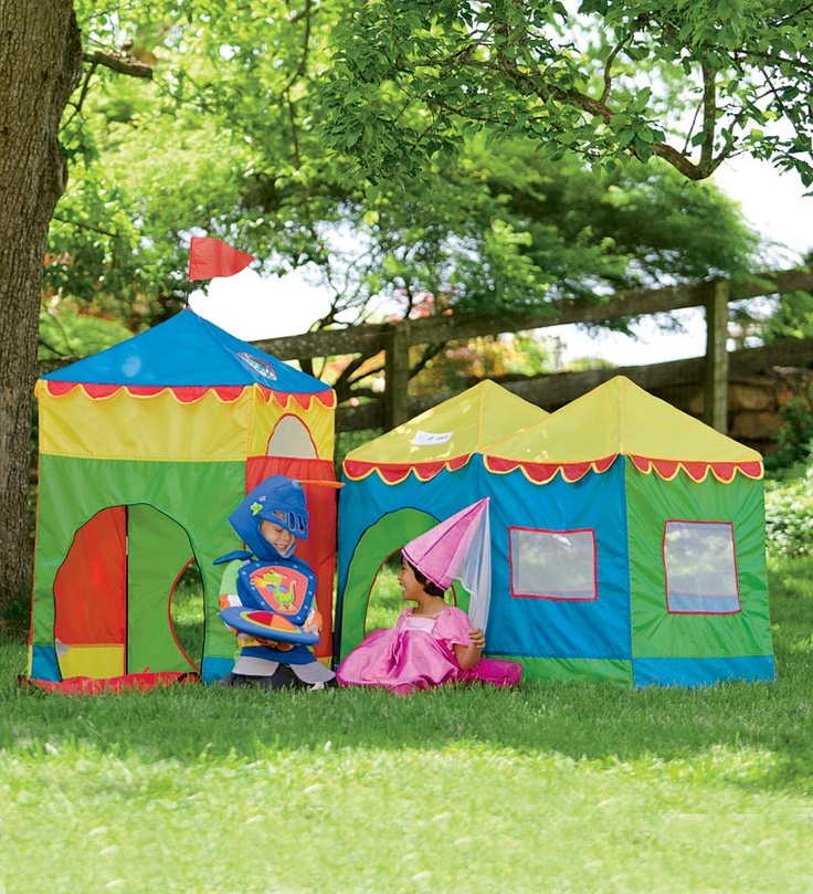 Indoor outdoor camelot play tents magic cabin christmas for Magic cabin tree fort kit