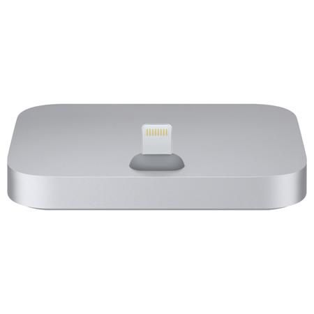 Apple iPhone Lightning Dock Space Gray  — 3990 руб. —  Цвет: серый космос, Страна: КНР, Кабель USB: доп.опция, Разъем Lightning: 1, Вес: 70 г, Зарядка от сети 220 В: Да, Разъем для наушников 3.5 мм: 1 шт, Материал корпуса: пластик, Блок питания: доп.опция, Зарядка от USB порта: Да, Док станция д/смартфона: iPod, iPhone 5/ 6 поколения