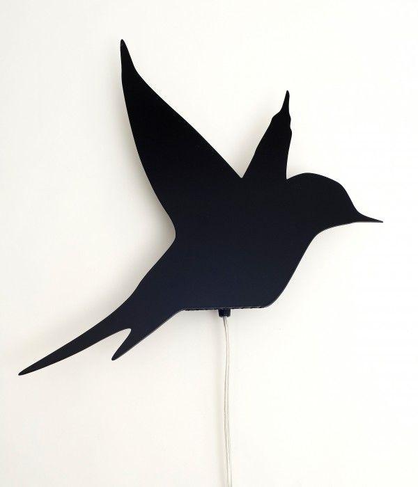 Bird Wall Lamp