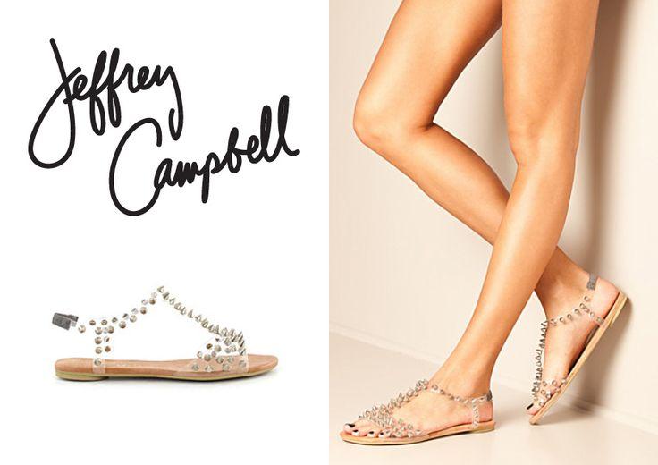 #JeffreyCampbell Flat sandals for Summer #showroom #palermostudio
