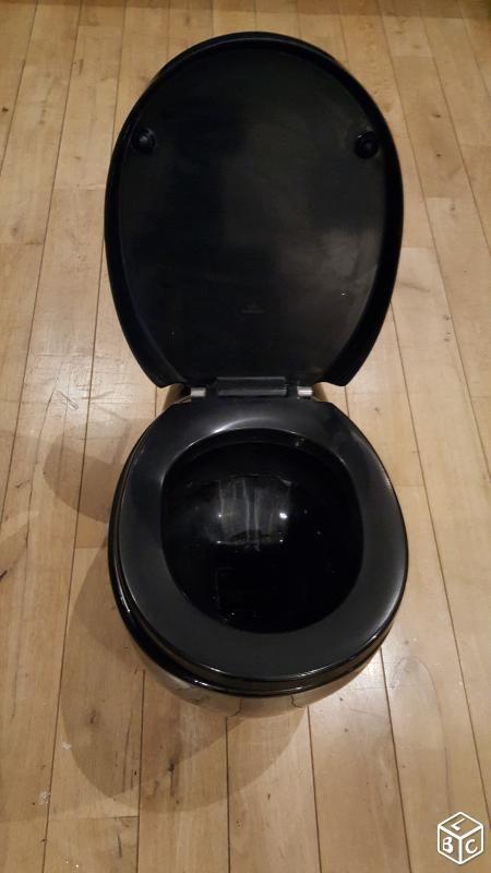 17 meilleures id es propos de cuvette toilette sur pinterest cuvette de t - Toilette noir suspendu ...