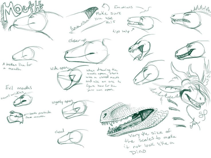 127 best dragons and fire images on pinterest art tutorials dragon mouth tutorial by nakase on deviantart ccuart Choice Image