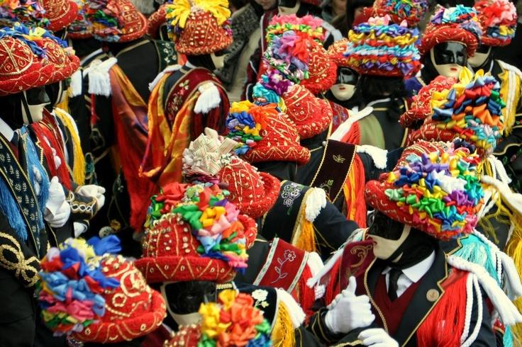 Carnival in Bagolino BS - Italy