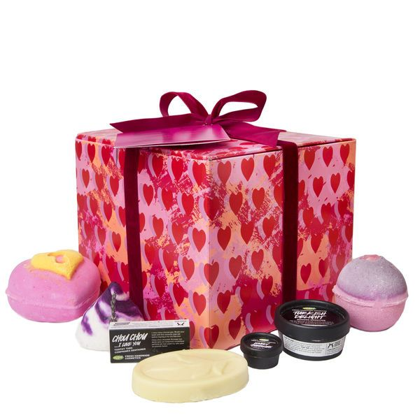 Lots Of Love Gift - Seven LUSH luxuries, the perfect gift to spoil the one you love.