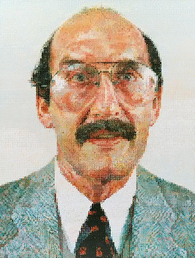 [1980] - ARTE | Collection Online | Chuck Close. Stanley II. 1980–81 - Guggenheim Museum