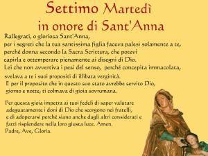 settimo  martedi a sant'Anna