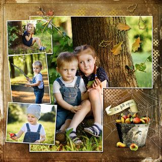 """RAK for a friend Julia   """"It's fall again"""" by et designs   Corelle-template23  http://www.thedigichick.com/shop/et-designs/"""