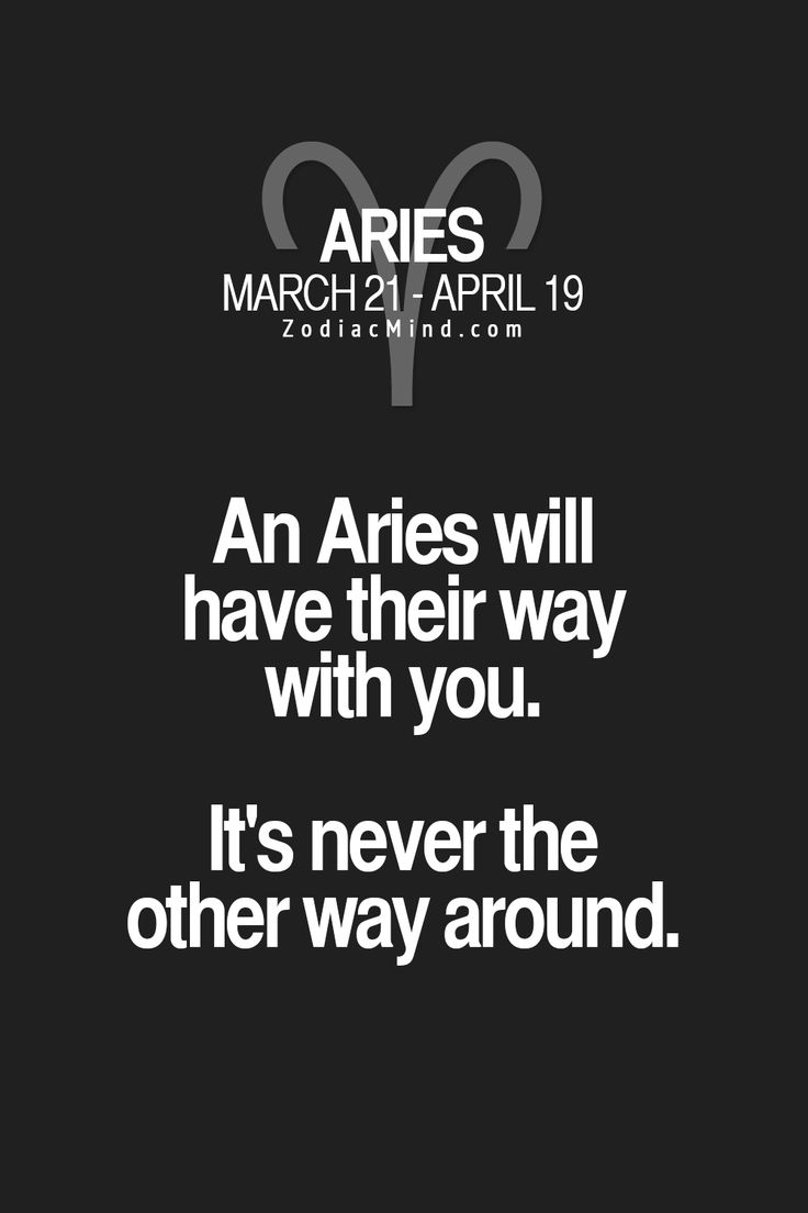 aries dating another aries Aries and scorpio, leo and pisces, gemini and virgo, to name a few, have these two can take one another from the height of passion to the.