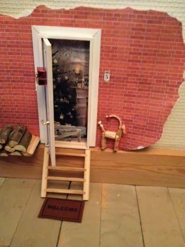 Best 25 elf door ideas on pinterest fairy doors on for Fairy door kmart